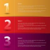 Barras abstractas coloreadas de la opción Fotografía de archivo
