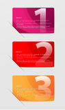 Barras abstractas coloreadas de la opción Fotografía de archivo libre de regalías