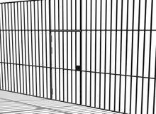 Barras da prisão Imagem de Stock