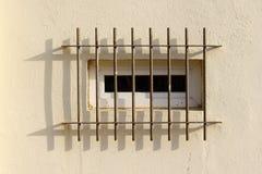 Barras da segurança no indicador Foto de Stock Royalty Free