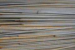 Barras de aço Imagens de Stock