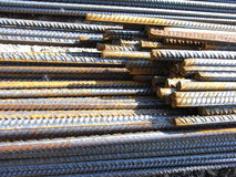 Barras de aço Foto de Stock Royalty Free