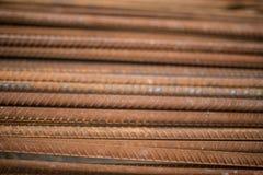 Barras de aço fotografia de stock