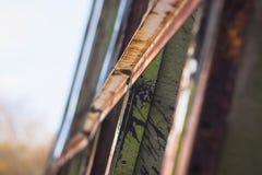 Barras de aço com a haste de fio para o reforço do concreto ou do cimento imagens de stock royalty free