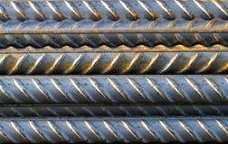 Barras de acero 1 Foto de archivo libre de regalías