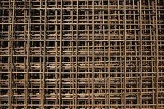 Barras de acero de la construcción Fotos de archivo libres de regalías