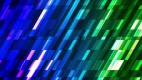Barras de alta tecnología 15 de la inclinación del centelleo de la difusión pequeñas libre illustration