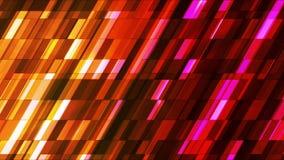 Barras de alta tecnología 16 de la inclinación del centelleo de la difusión pequeñas libre illustration