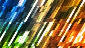 Barras de alta tecnología 06 de la inclinación del centelleo de la difusión pequeñas libre illustration