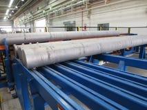 Barras de alumínio fotografia de stock