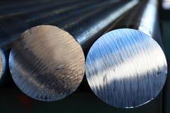 Barras de aluminio Fotografía de archivo