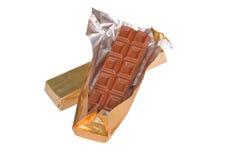 Barras de chocolate Imágenes de archivo libres de regalías