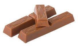 Barras de chocolate fotos de stock royalty free