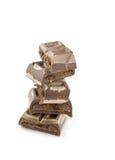 Barras de chocolate Imagem de Stock Royalty Free