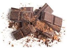 Barras de chocolate Fotografía de archivo