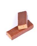 Barras de chocolate fotografia de stock