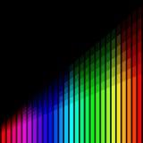 Barras de color Foto de archivo libre de regalías