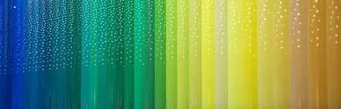 Barras de color ilustración del vector