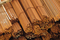 Barras de ferro Imagens de Stock