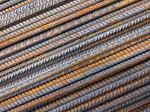 Barras de ferro foto de stock