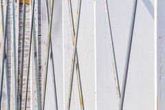 Barras de ferro do apoio Fotos de Stock