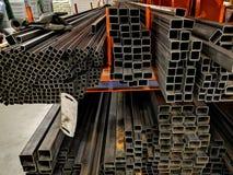 Barras de ferro em uma loja foto de stock royalty free