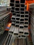 Barras de ferro em uma loja imagem de stock royalty free