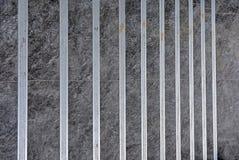 Barras de ferro na etapa fotografia de stock