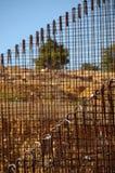 Barras de ferro para o concreto Imagem de Stock Royalty Free