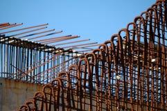 Barras de ferro para o concreto Fotografia de Stock Royalty Free