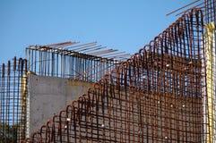 Barras de ferro para o concreto Imagens de Stock