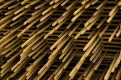 Barras de hierro Fotografía de archivo