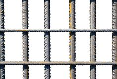 Barras de hierro Fotos de archivo libres de regalías