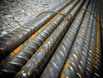 Barras de hierro imagenes de archivo