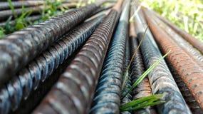 Barras de hierro Imágenes de archivo libres de regalías
