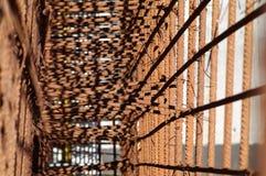 Barras de hierro para el hormigón Foto de archivo libre de regalías