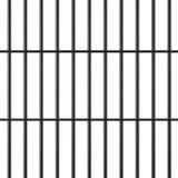 Barras de la cárcel ilustración del vector