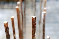 Barras de la construcción Imagen de archivo