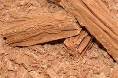 Barras de la escama del chocolate Imágenes de archivo libres de regalías