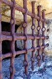Barras de la prisión Imágenes de archivo libres de regalías