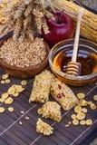 Barras de la proteína del cereal Imagen de archivo
