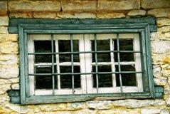 Barras de la seguridad de la ventana imágenes de archivo libres de regalías