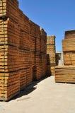 Barras de madeira. Imagens de Stock Royalty Free