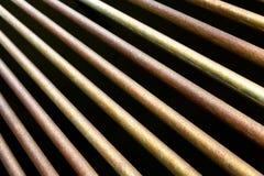 Barras de metal Imagen de archivo