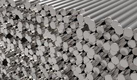 Barras de metal ilustração do vetor