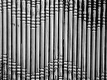 Barras de metal Fotos de archivo libres de regalías