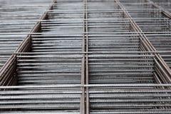 Barras de metal apiladas en pilas Fotografía de archivo libre de regalías