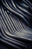 Barras de metal dobladas Imagen de archivo libre de regalías
