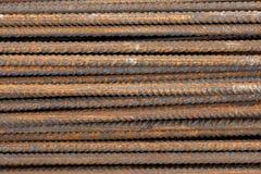 Barras de metal oxidadas Fotografía de archivo libre de regalías