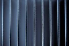 Barras de metal plateado Imágenes de archivo libres de regalías